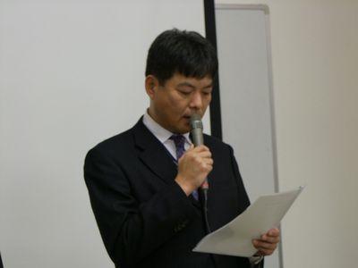 宮城仮想工業団地運営委員会 伊藤明洋委員長