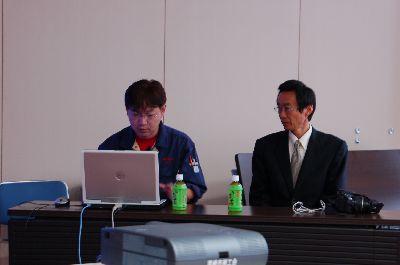 講師は内藤社長と村田さん